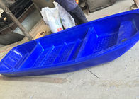 B4M Rotomolded Plastic Rowing Boat , Poly Fish River Row Boats With Outboard Motor