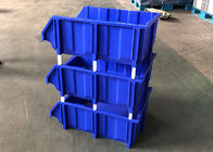 Blue Color Warehouse Plastic Picking Bins With Racking In Industrial Workshop