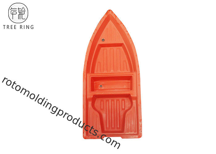 Lightweight 4 Persons Plastic Rowing Boat For Fishing / Rowing Rotomoulded A3M