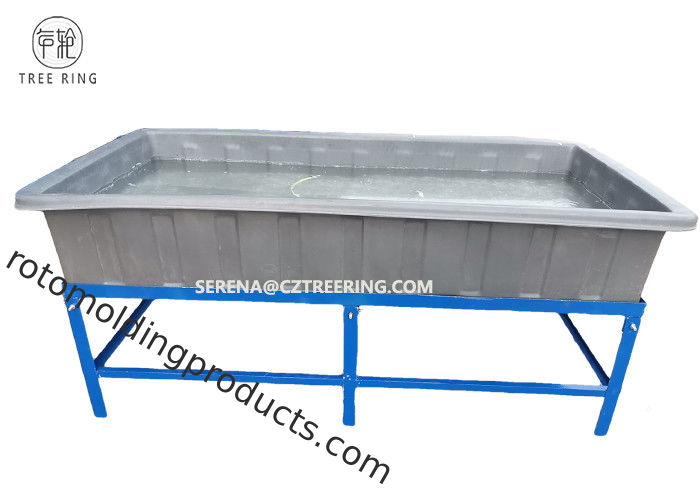 2M Lenght Lldpe Material Aquaponic Grow Bed Poly Aquaculture Tanks With Tank Accessories